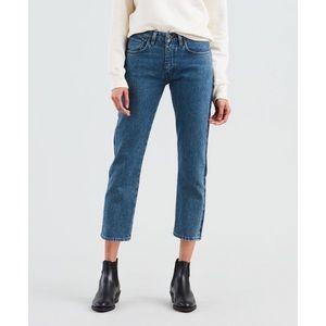 Topshop | Moto High Rise Crop Jeans